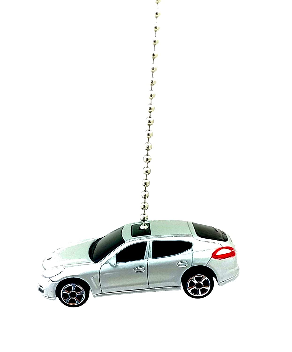 Maisto Porsche Diecast Ceiling Fan Light Chain Pulls 1/64 (Porsche Panamera Turbo - Silver) - - Amazon.com