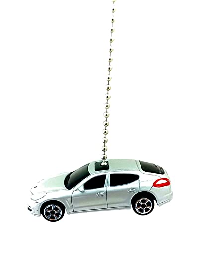 Maisto Porsche Diecast Ceiling Fan Light Chain Pulls 1/64 (Porsche Panamera Turbo -