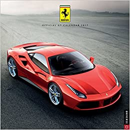 Buy Ferrari Official Gt 2017 Wall Calendar Square Wall Book Online