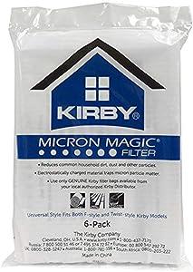 Kirby 204811G Paper Bag, Allergen Cloth Universal Collar 6 Pk