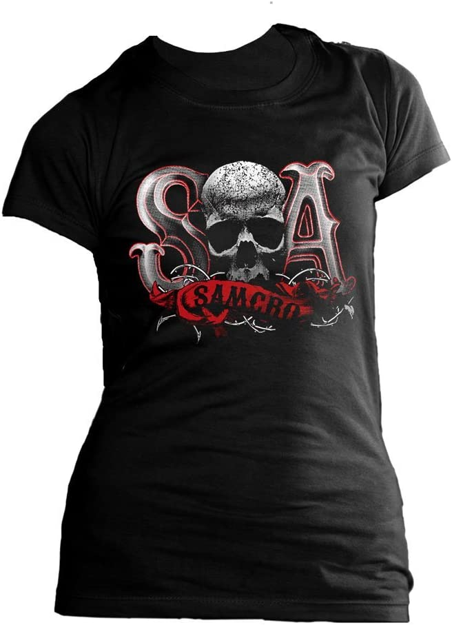 Sons of Anarchy Girlie T-shirt due tone maat M