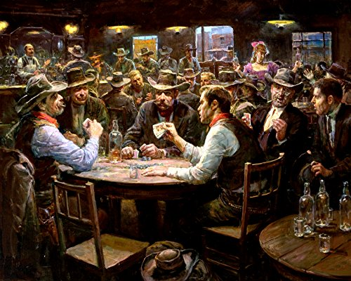 3D Wall Art 11 x 14 On Metal Playing Cards Doc Holliday Texas Holdem Poker
