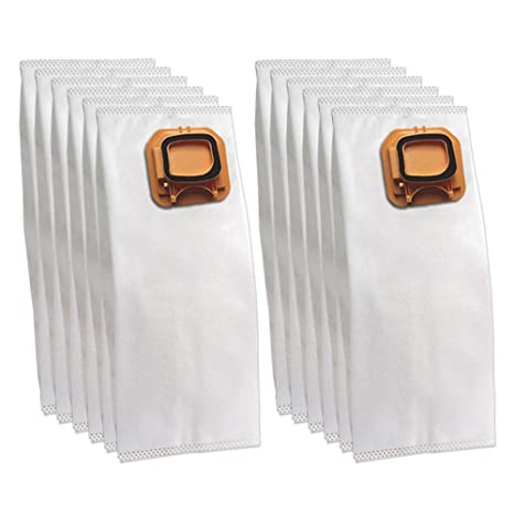 12 bolsas/bolsitas (microfibra) para aspiradora Vorwerk Folletto Kobold VK 140, 150, VK140, VK150