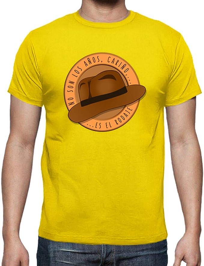 latostadora - Camiseta Indiana Jones - para Hombre: ismael.salmeron: Amazon.es: Ropa y accesorios