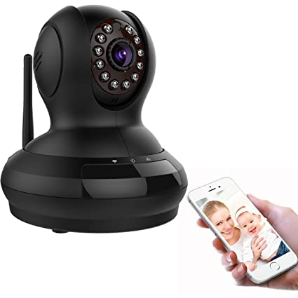 Tepoinn FI-368 Wireless WiFi Vigilancia cámara IP Nube cámara Pan Tilt 720P visión nocturna