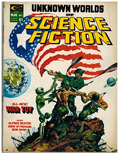 UNKNOWN WORLDS OF SCIENCE FICTION 2 G-VG