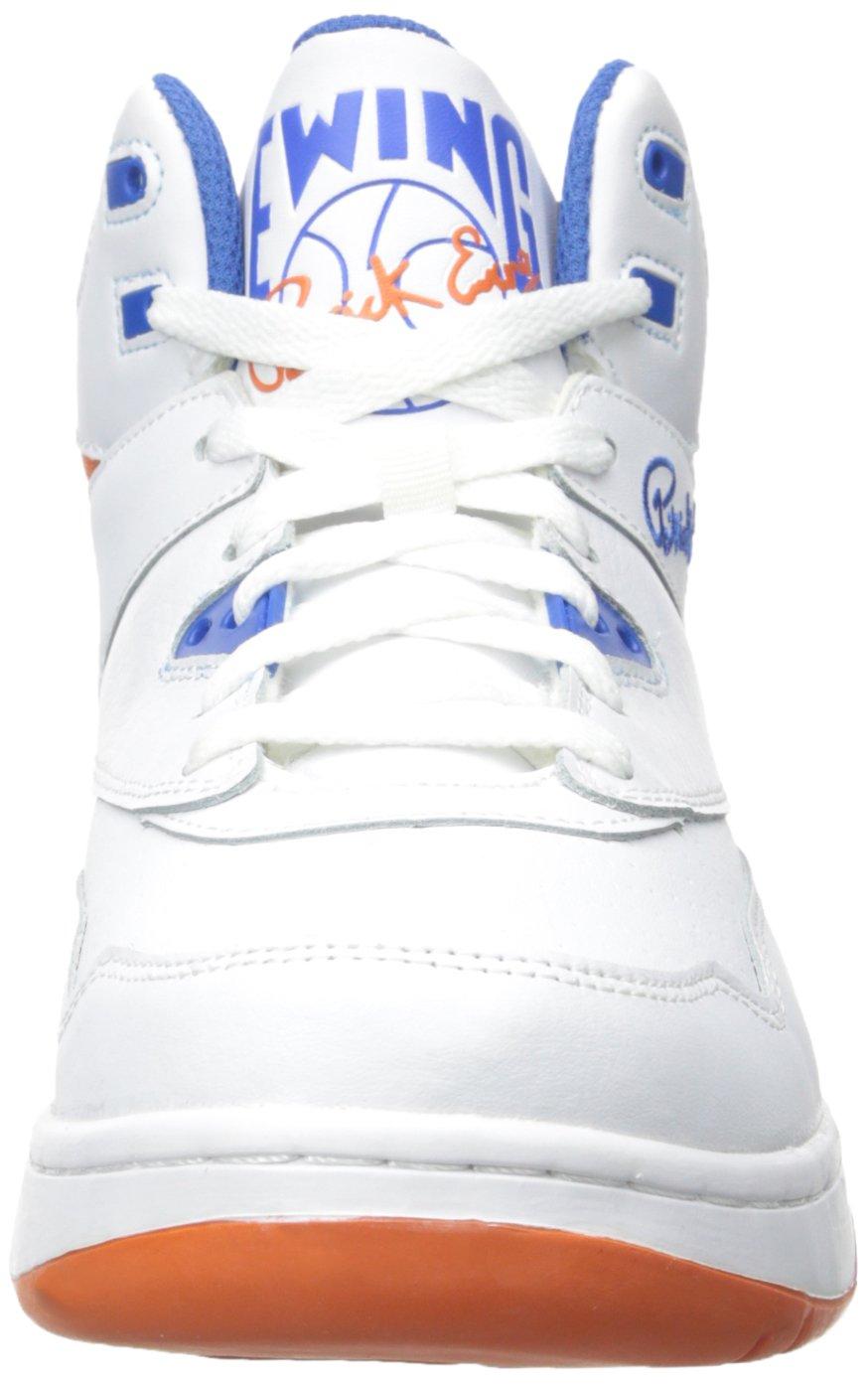 Patrick Ewing GUARD Zapatillas Sneakers Cuero Blanco Azul Naranja para Hombre Baloncesto: Amazon.es: Deportes y aire libre