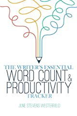 The Writer's Essential Word Count & Productivity Tracker (Essential Planners) Paperback