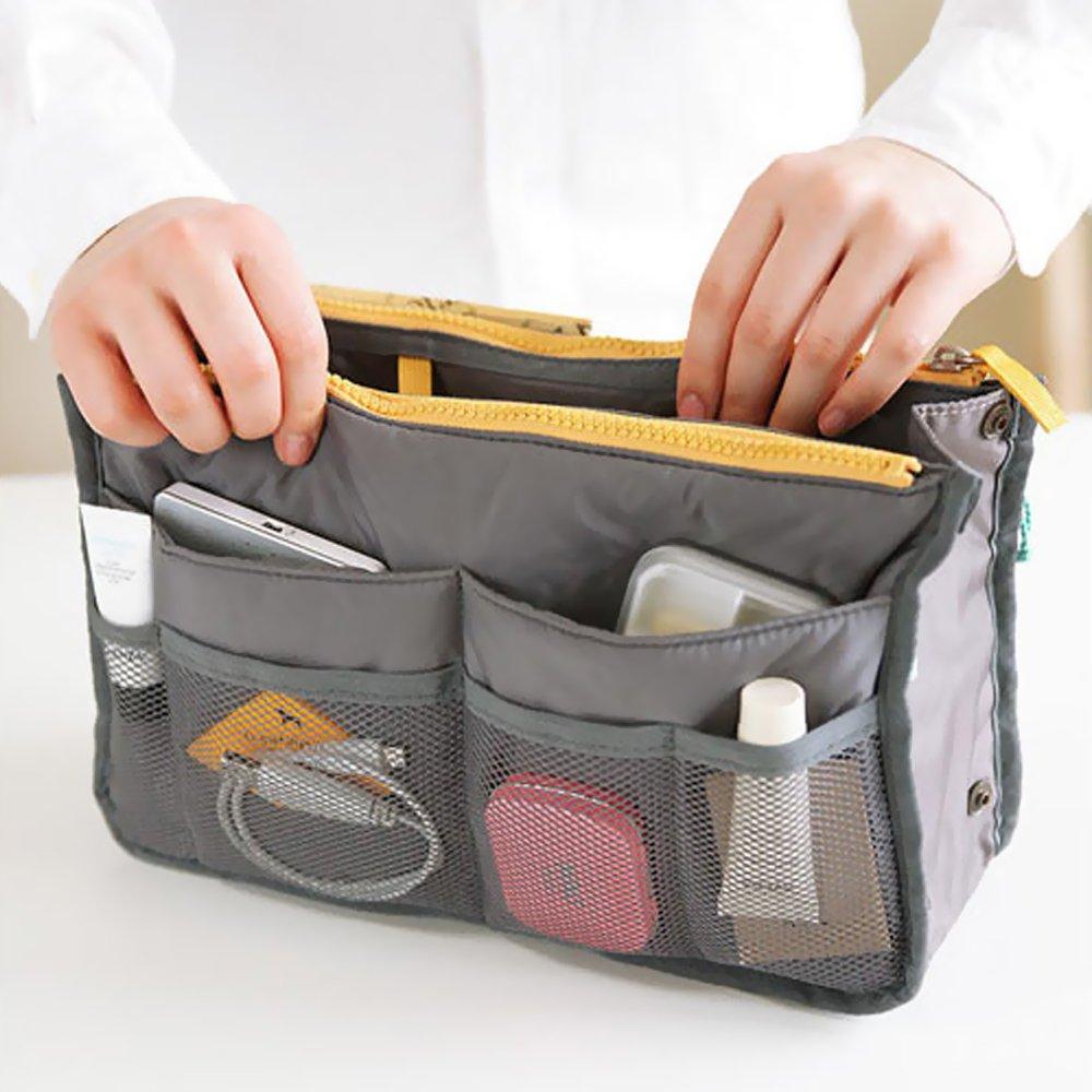 EYX Formula Essentials Set,Personal organizer toiletry bag+manicure pedicure set+Purse Hair Comb for women