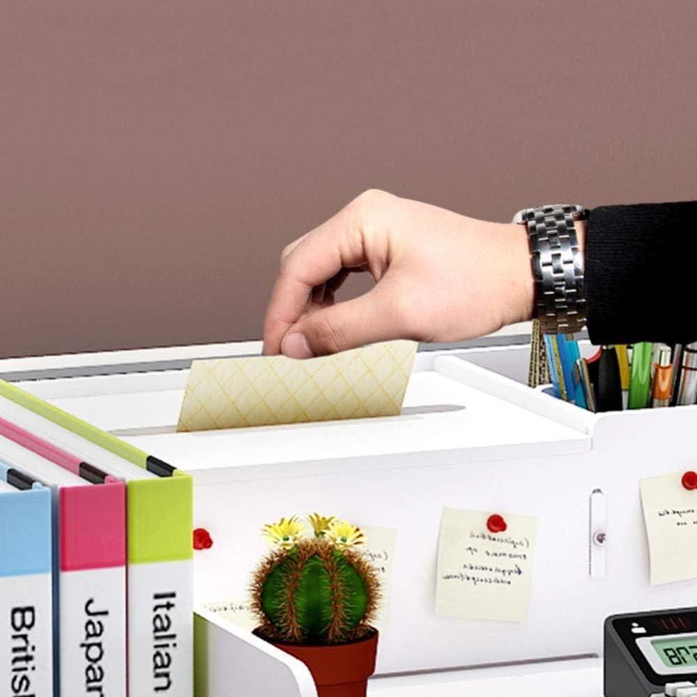 YZERTLH Organisator-Halter-Buch Zeitschriften-Organisator-Schreibtisch-Organisator-Schreibtisch-Briefpapier-Halter-Speicherorganisator-Gestell-Halter Der Unterseite,A