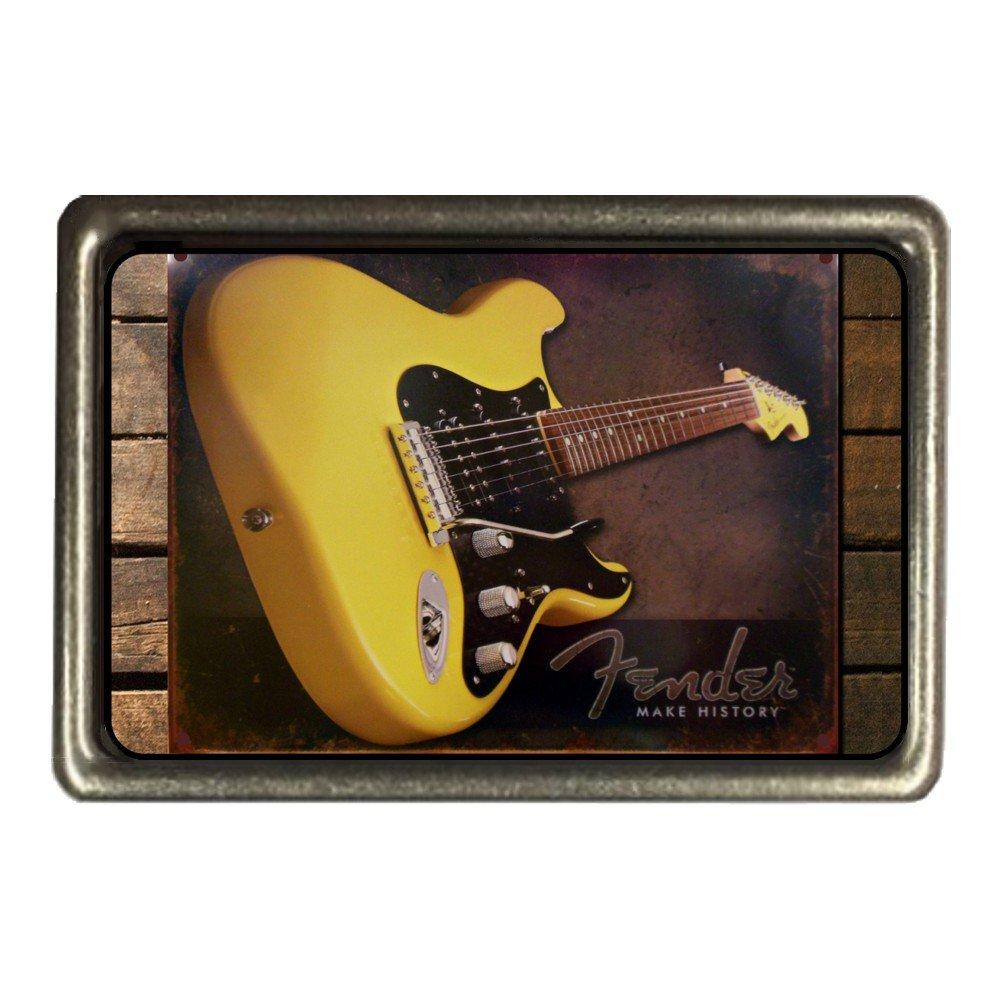 Musical Guitars Fender Belt Buckle