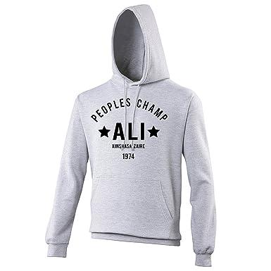 Muhammad Ali Cassius Clay Boxing Gym Training Mens Hoodie
