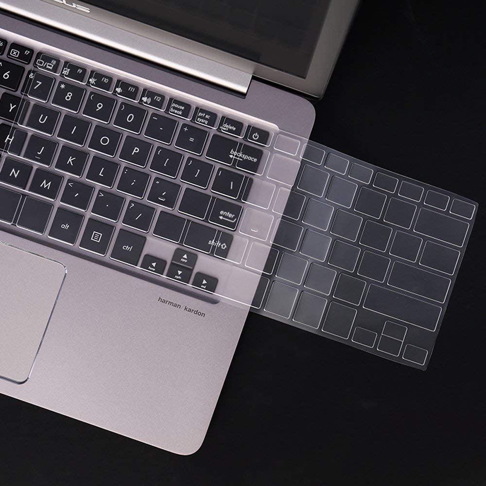 SKNLAP Keyboard Cover Premium Ultra Thin Keyboard Protector for ASUS ZenBook UX330UA-AH54 13.3-inch UX31A-DH71 UX305UA UX303UB UX303w