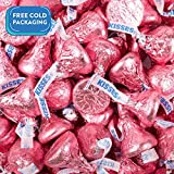 Hershey's Kisses Pink Chocolate Candy Kisses (1lb bag)