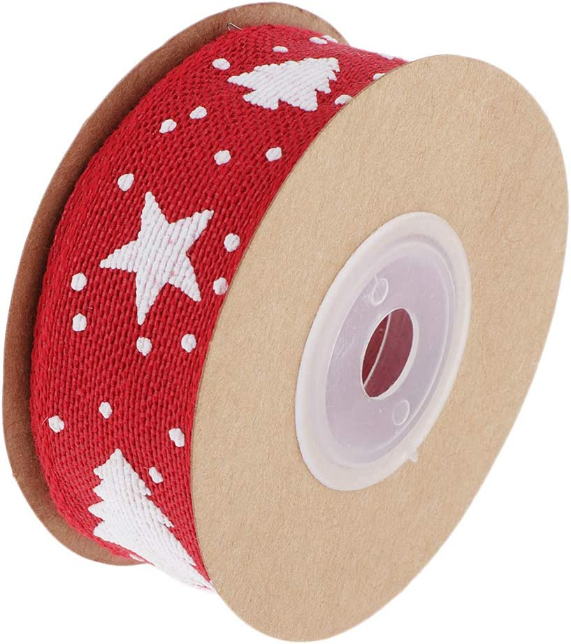 11 Yards Christmas Ribbons Xmas Tree Trim Ribbon Wired Satin Ribbons For Craft Projects Diy Decoration Gift Wrap Red Amazon Ca Home Kitchen