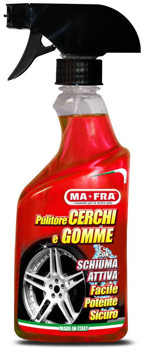 Ma-Fra, Pulitore Cerchi e Gomme, Detergente con Schiuma Attiva, 500 ml Ma-Fra S.p.A. H0361
