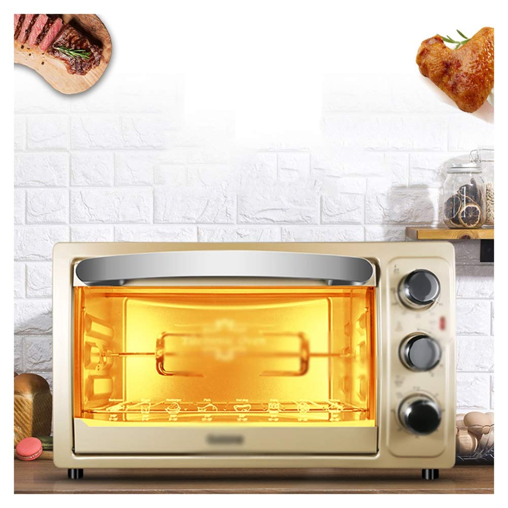 PANGU-ZC Ovens-High Capacity Electric MiniOven And Grill, WithMultiple Cooking Functions, Adjustable Temperature Control AndTimer