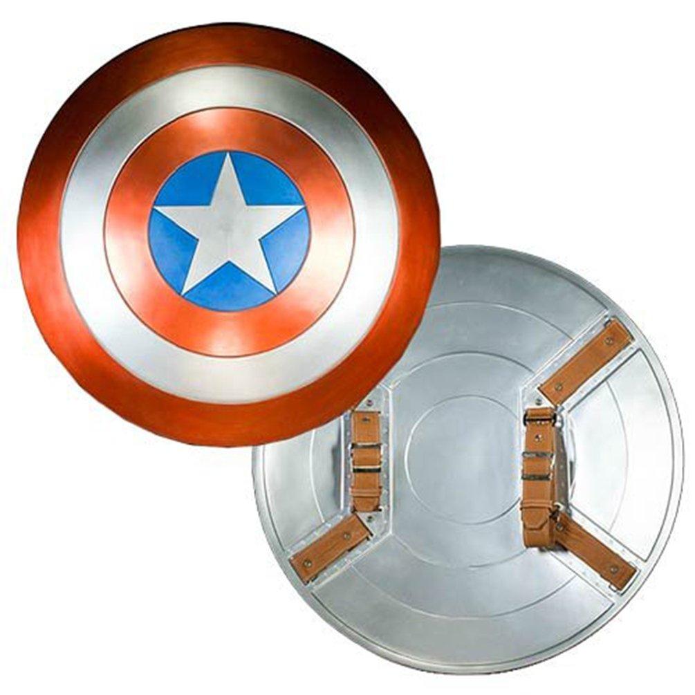 Captain America Avengers Movie EFX Collectible Shield Replica - DeluxeAdultCostumes.com