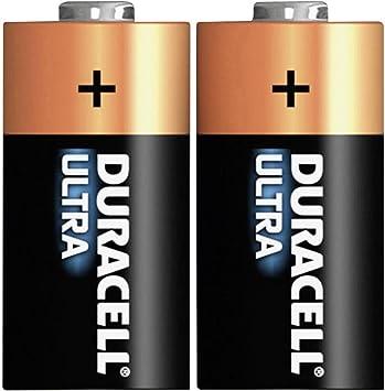 Duracell Ultra Power Lithium Pack of 2 Litio 3V batería no-recargable: Amazon.es: Electrónica