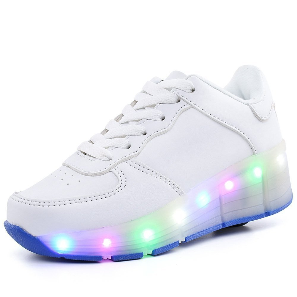 Gentlemen/Ladies Quality.A Kids Sneakers Roller Skates LED Luminous Shoes Beautiful color color Beautiful Price reduction Known for its excellent quality NW22596 ae5449
