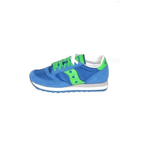 SAUCONY scarpe sneaker uomo JAZZ ORIGINAL S2044421 blu verde