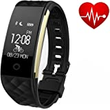 Fitness Tracker Watch,TINGAU Smart Bracelet Waterproof Bluetooth 4.0 OLED Touch Screen Activity Tracker Wristband Pedometer with Heart Rate and Sleep Monitor for Android and IOS Smart Phones