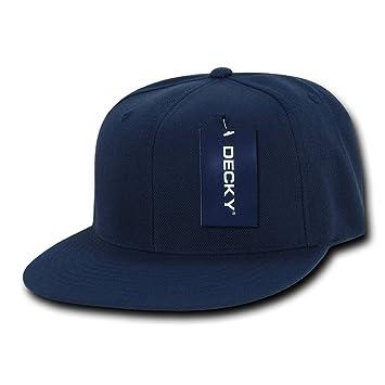 Decky Vintage Snap Back - Gorra para Hombre, Color Azul Marino ...