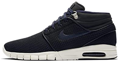 2fe447ad2669c Nike Stefan Janoski MAX MID Mens Skateboarding-Shoes 807507-005_7.5 - Black