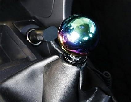 Sport family Sch/ädel Form Universal Auto Schaltknauf Schaltkopf f/ür Manuelles oder automatisches Getriebe Ohne Sperrknopf schwarz
