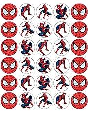 30 Spiderman Cupcake Toppers Eetbare Wafer Paper Fairy Cake Toppers Verjaardagstaarten