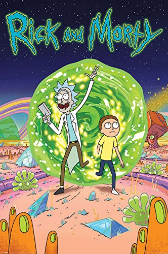 Rick And Morty - TV Show Poster / Print (Portal) (Size: 24