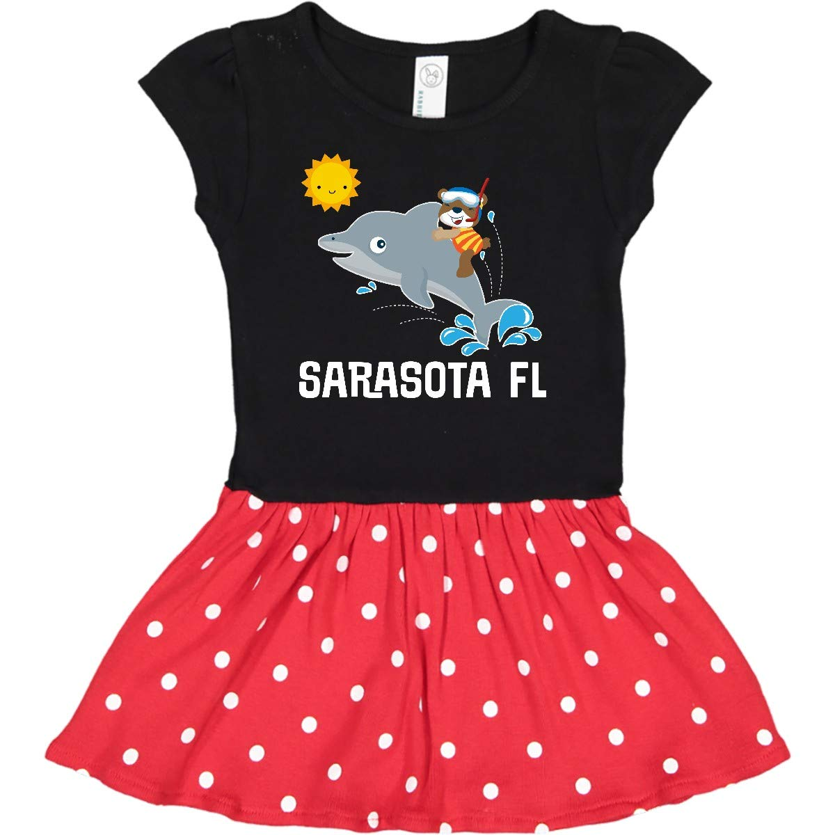 inktastic Sarasota Florida Vacation Travel Baby T-Shirt