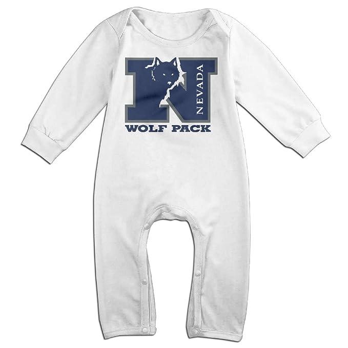 Amazon.com: Universidad de Nevada Reno bebé fresco Escalada ...