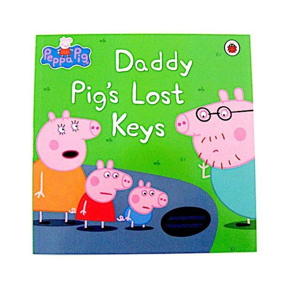 Peppa Pig: Daddy Pig's Lost Keys: Amazon.co.uk: Mandy archer:  9780723296850: Books
