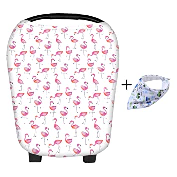 Car Seat Accessories Loyal Baby Car Seat Cover Canopy Nursing Cover Multi-use Stretchy Shopping Cart
