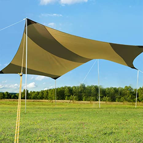 Carpa Exterior Parasol Gran Tamaño Parasol para Coche Toldo ...