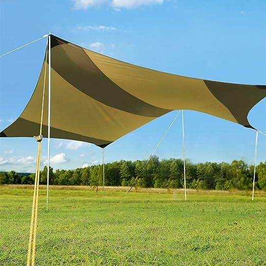 Carpa Exterior Parasol Gran Tamaño Parasol para Coche Toldo Prueba Lluvia Pérgola Toldo Protector Solar Toldo De Sombrilla para Camping Salvaje Gran Espacio: Amazon.es: Hogar