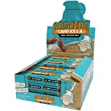 Grenade Carb Killa High Protein and Low Sugar Candy Bar, 12 x 60 g - Chocolate Chip Salted Caramel