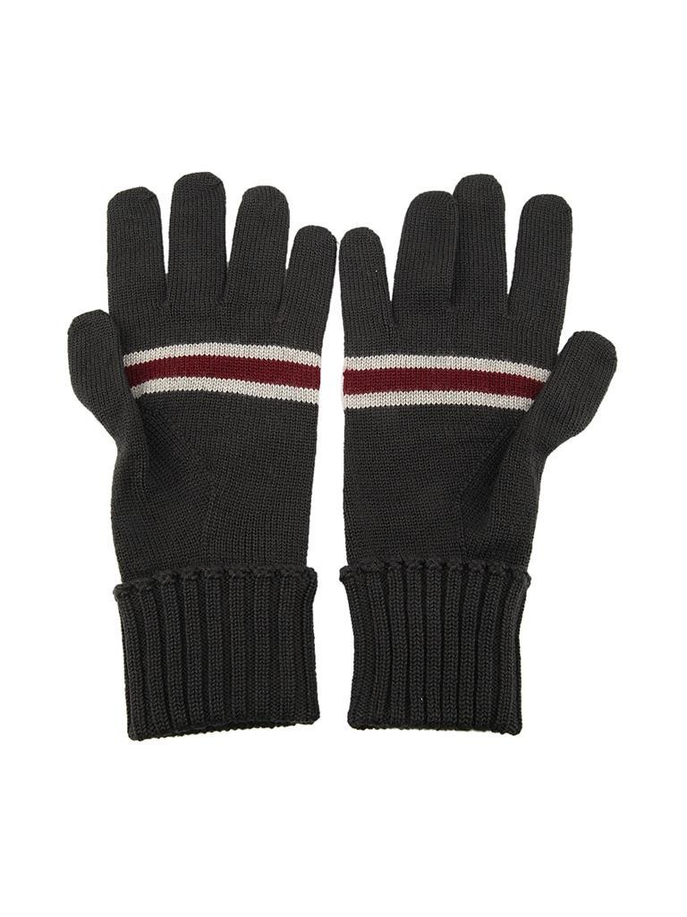 Gucci Web Wool Unisex Winter Gloves 294732 by Gucci
