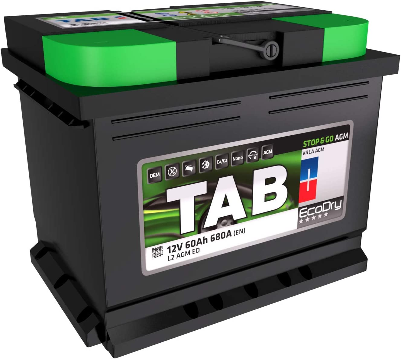 Bosch S5A05 Batterie de Voiture 60A//h-680A
