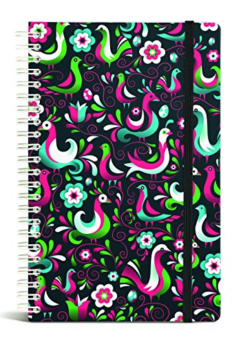 Gift Trenz Franklin Mill Birds Of A Feather Wire Notebook, Ruled (1007)