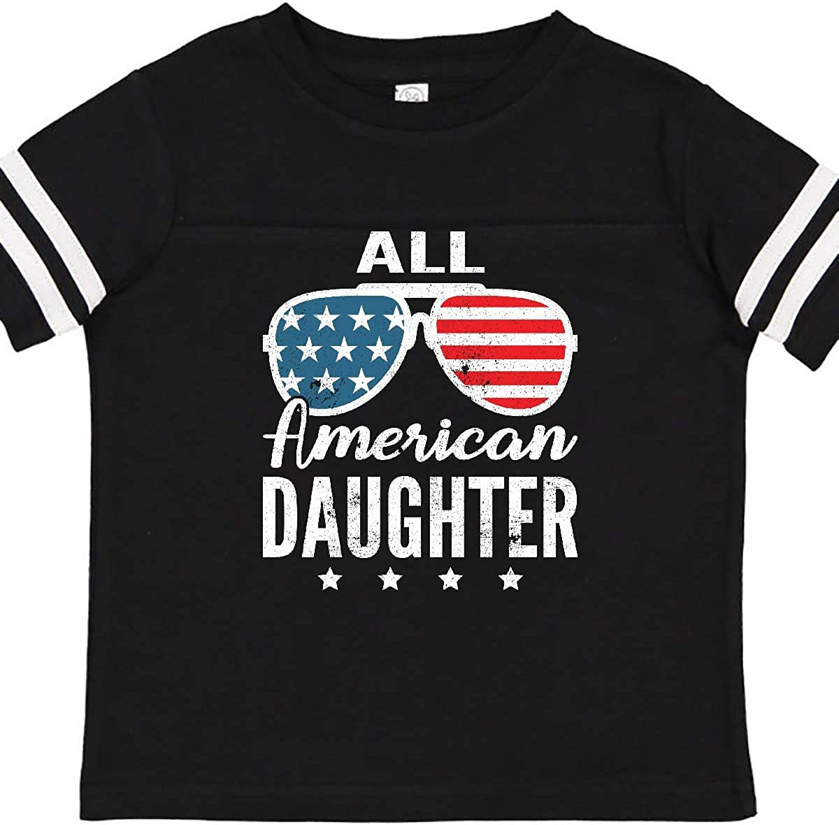 inktastic All American Daughter USA 4th of July Parade Toddler T-Shirt