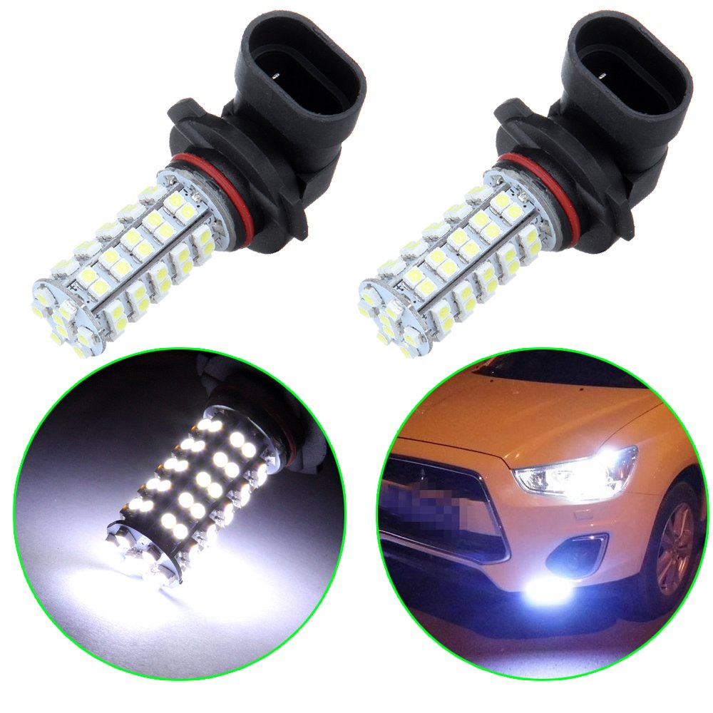 OCPTY 9005 HB3 68SMD Xenon White LED Light Bulb Lamp Replacement fit for Fog Light, 2Pack 992450-5209-2227529491