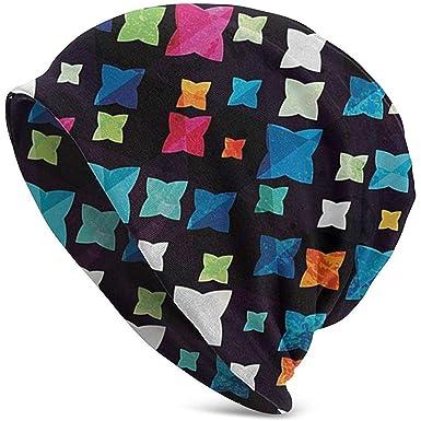 Maselia Tres Colores Brillantes Sombreros de Gorros para niños en ...