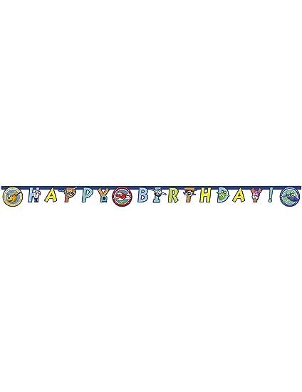 Amazon.com: Super wings guirnalda feliz cumpleaños: Toys & Games