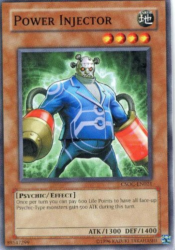 Amazon com: Yu-Gi-Oh! - Power Injector (CSOC-EN021
