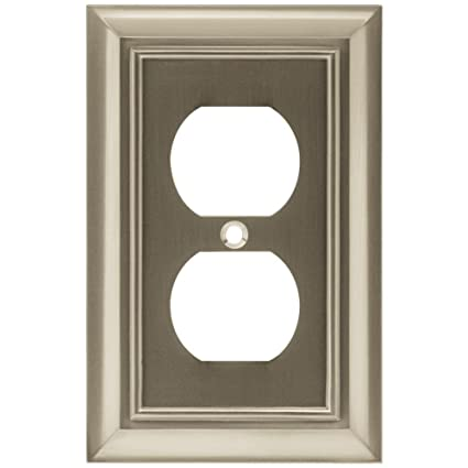 Brainerd 64234 Architectural Single Duplex Outlet Wall Plate