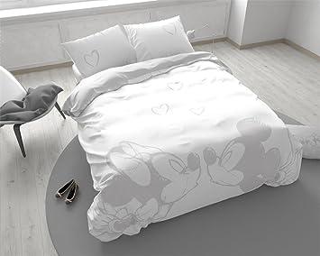 royal textile linge de lit Royal Textile Mickey & Minnie Story   Housse de couette pour lit  royal textile linge de lit