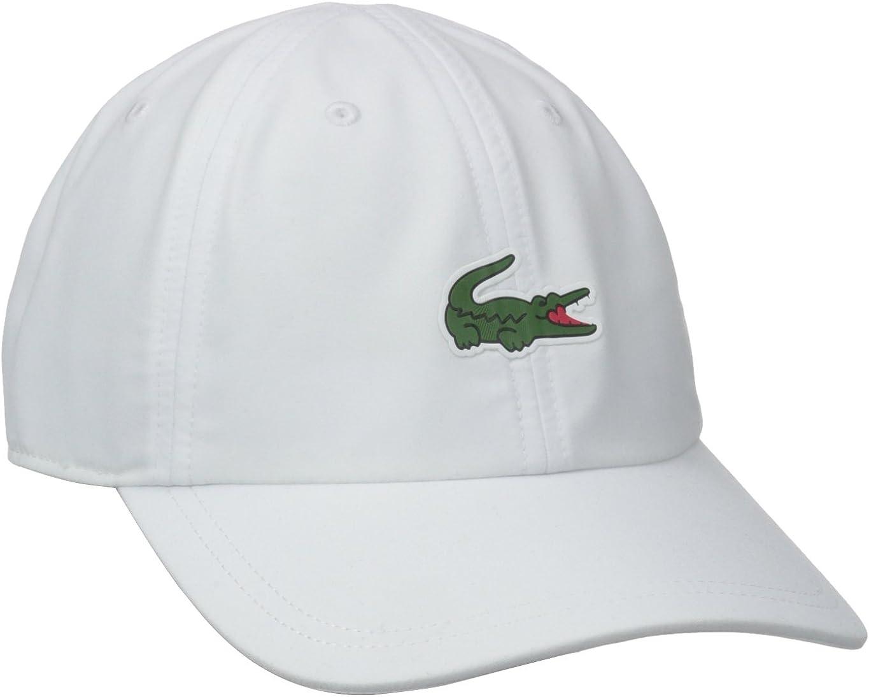 Lacoste Mens Sport Tennis Microfiber Crocodile Cap