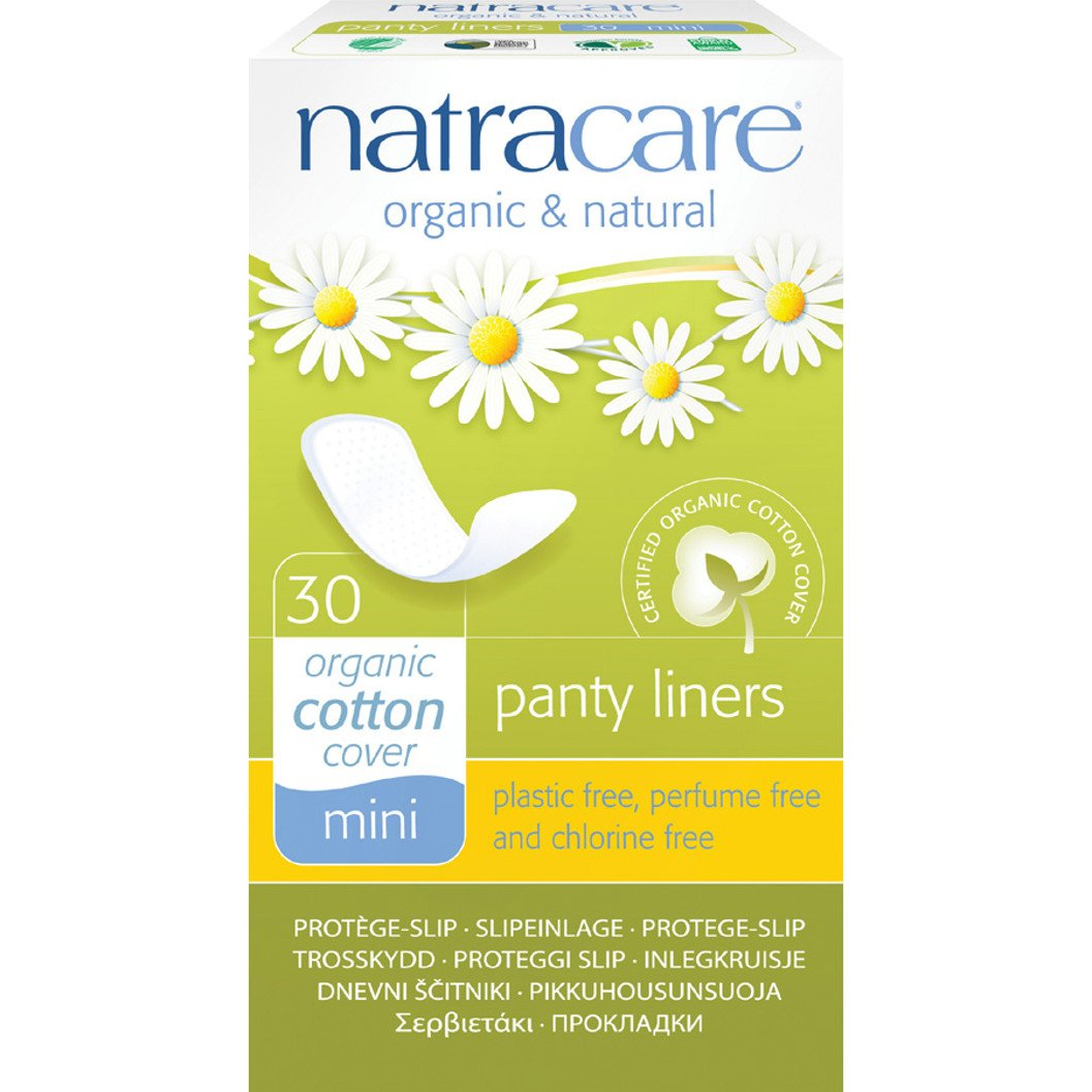 Natracare Mini Pant Liner, 30 Count